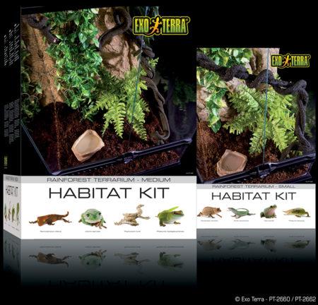 Exo Terra Rainforest Terrarium Habitat Kit