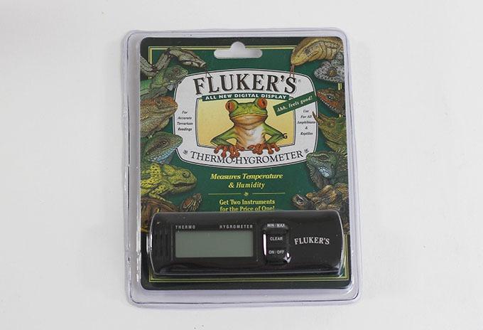Fluker's Thermo-Hygrometer